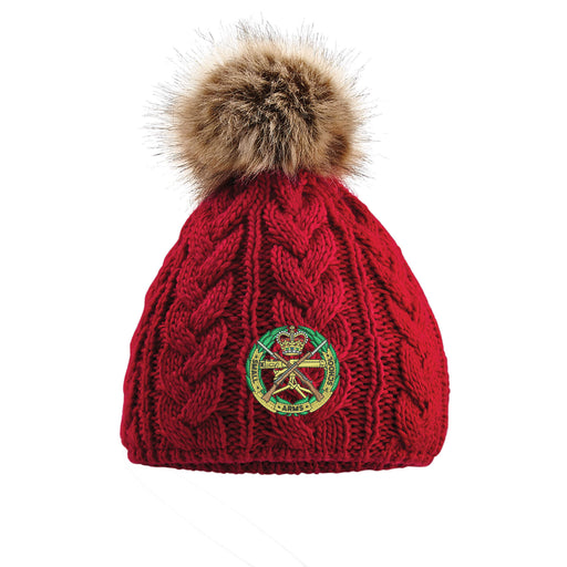 Small Arms School Corps Pom Pom Beanie Hat