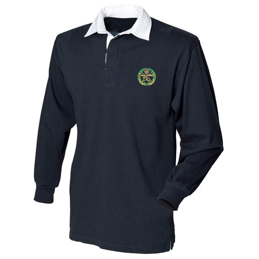 Small Arms School Corps Long Sleeve Rugby Shirt