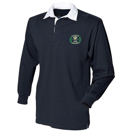 South Lancashire Regiment Long Sleeve Rugby Shirt