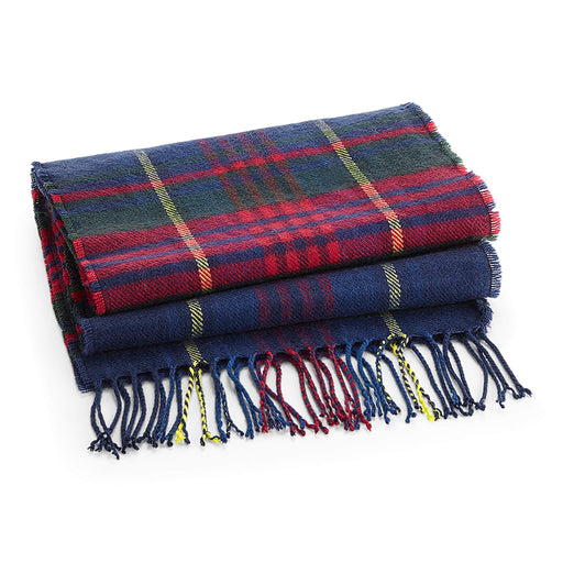 Queens Own Yeomanry Classic Check Scarf