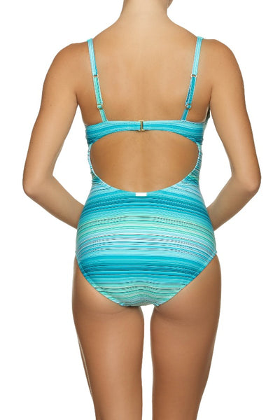 UNDERWIRE ONE-PIECE-JADE COAST