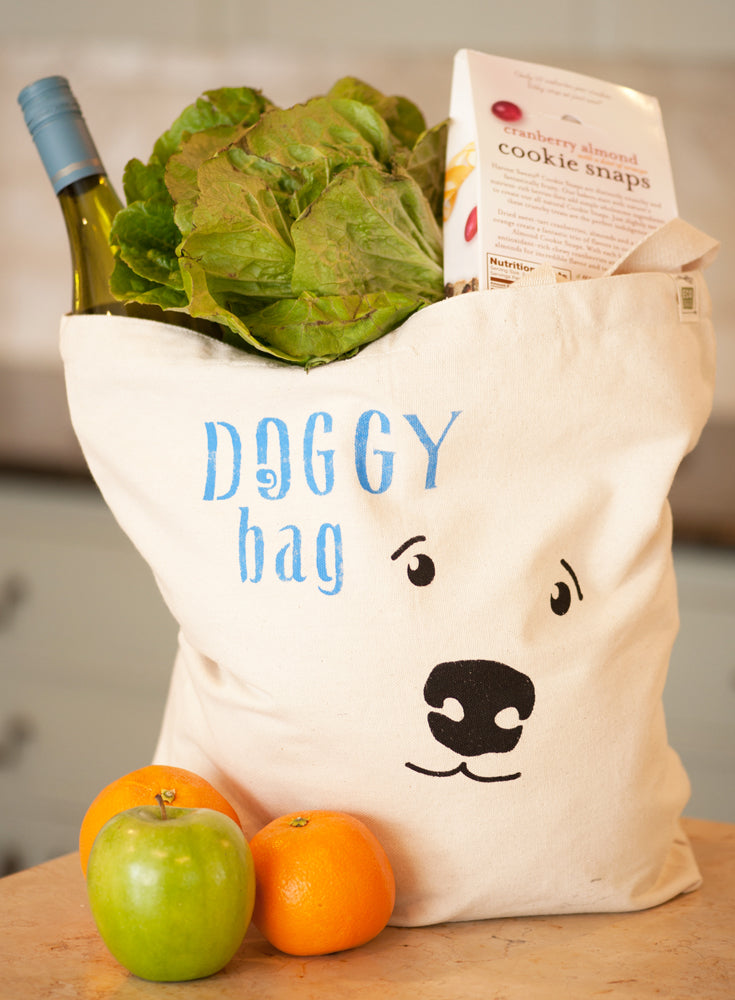Doggy Bag Tote - Recycled Canvas Bag