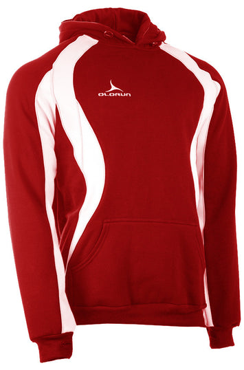 Olorun Iconic Adult's Hoodie Red/White