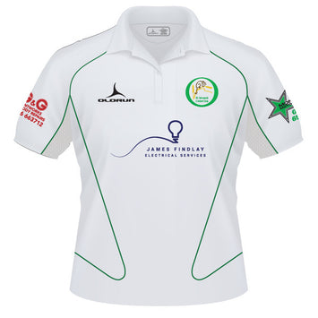 St Ishmaels CC Adult's Short Sleeve Cricket Polo Slider