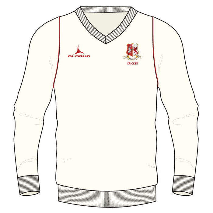 Cwmafan RFC Adult's Long Sleeve Cricket Jumper