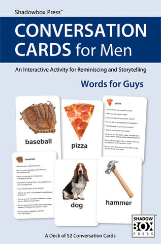 CONVERSATION CARDS for Men – Words for Guys