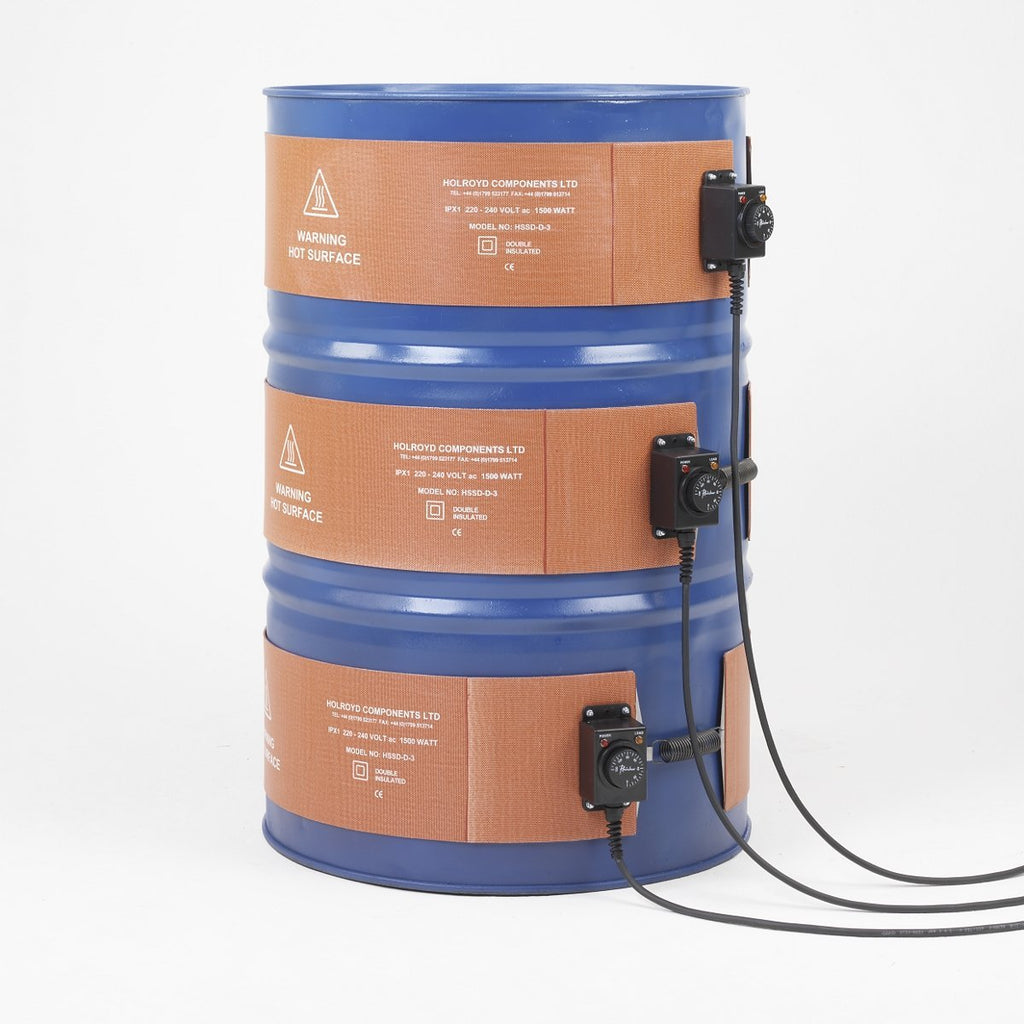 Silicon Side Drum Heater - HSSD/D ||For Use with 200ltr Drums