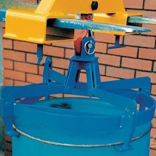 Vertical Drum Tongs forklift attachments