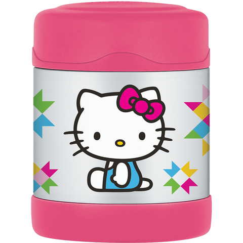 Thermos FUNtainer Food Jar: Hello Kitty Pink Geometric