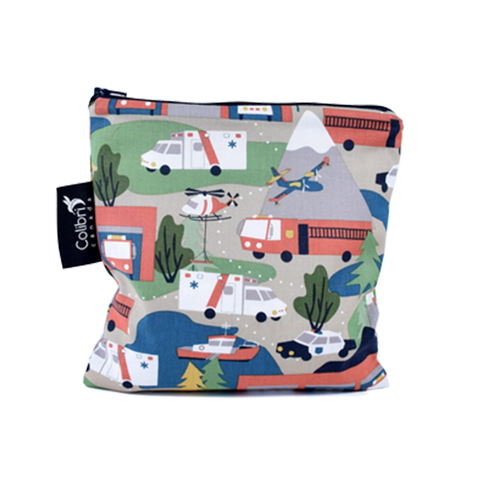 Colibri Large Reusable Snack Bag - Mountain Rescue