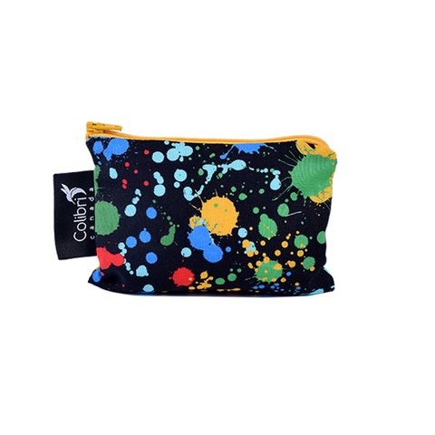 Colibri Small Reusable Snack Bag - Splatter