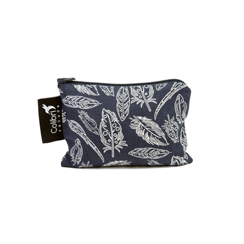 Colibri Small Reusable Snack Bag - Feather