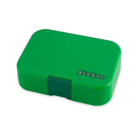 Yumbox Outer Box Only: Terra Green Panino (4 Compartments)