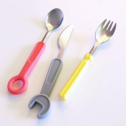 Tool-Inspired Cutlery Set