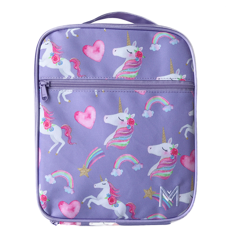 MontiiCo Insulated Lunch Bag (Ice Pack incl.) - UNICORN