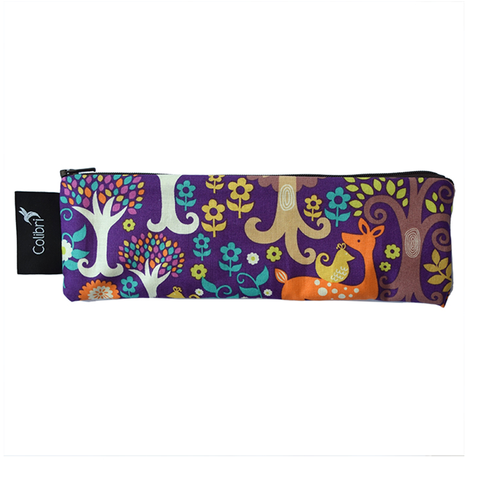 Colibri Wide Reusable Snack Bag - Purple Forest