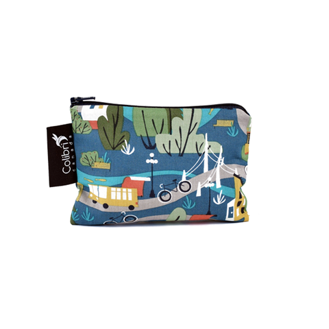 Colibri Small Reusable Snack Bag - Urban Cycle
