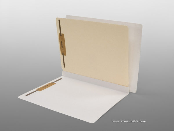Classification Folders (Mylar Laminated, End Tab), Acme Visible - 1