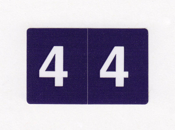 Acme Visible Numeric Colour Coded Labels - K4300 Series, Acme Visible - 1