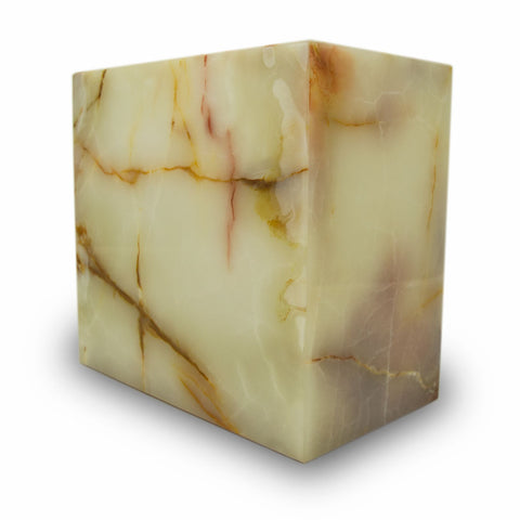 Light Green Onyx Marble Box Cremation Urn