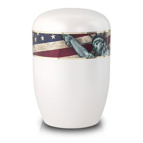 Biodegradable Cremation Urn - Statue of Liberty