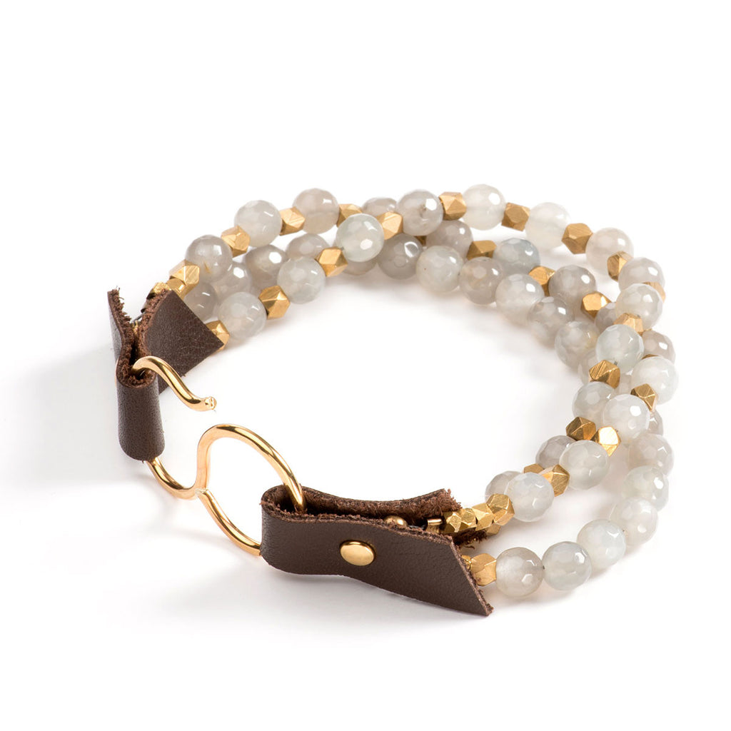 Larkmead Bracelet Grey Moonstone