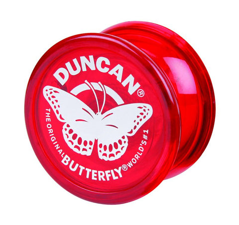 Butterfly Yo-Yo Red