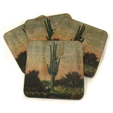 Cactus Wood Coasters