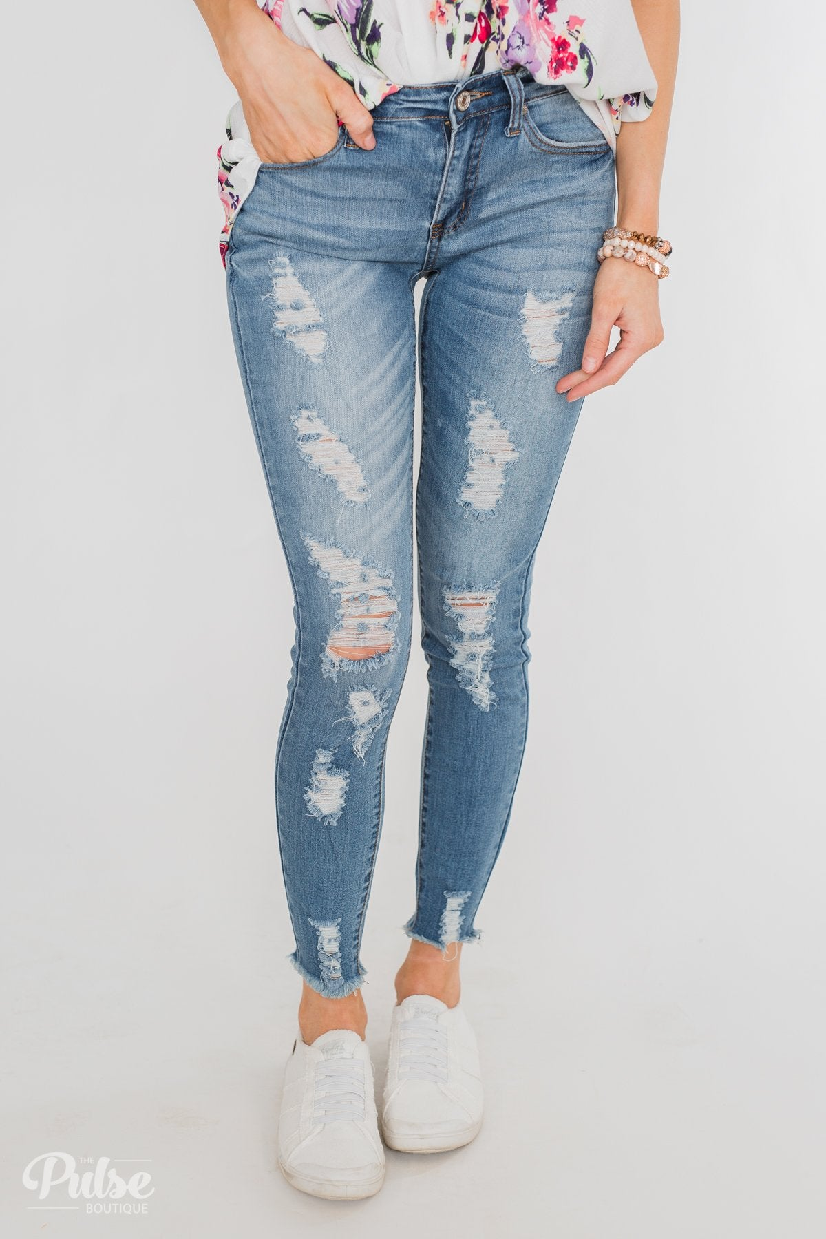 Kan Can Jeans- Penny Wash