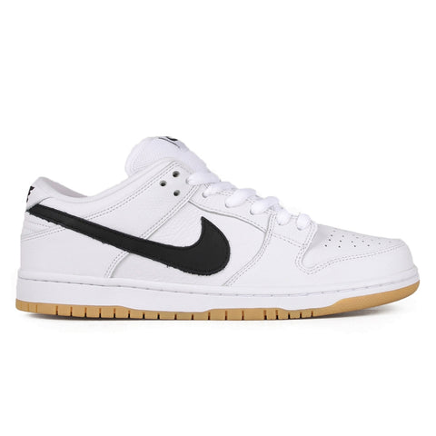 NIKE SB SP19 ORANGE LABEL DUNK LOW PRO ISO WHITE / BLACK - BLACK