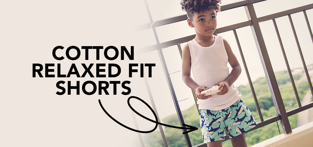 cotton-relaxed-fit-shorts-for-kids