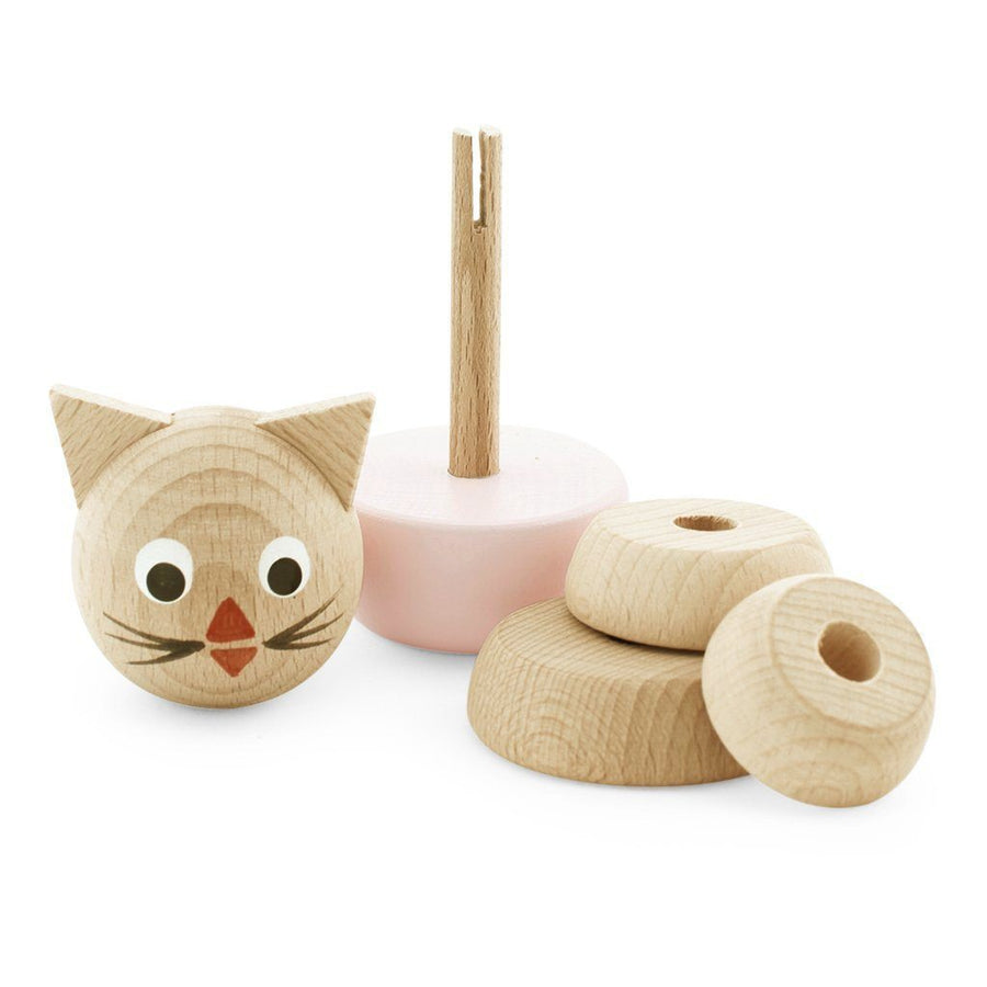 Miva Vacov | Wooden Cat Stacking Puzzle | Victoria