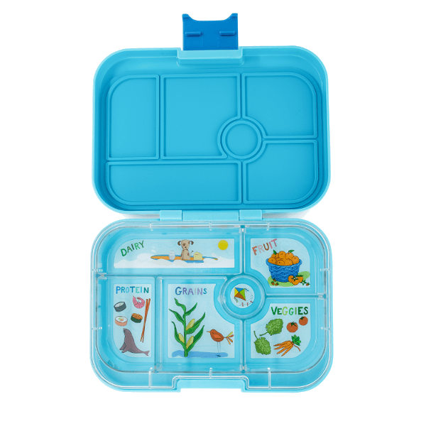 Yumbox | Original Lunch Box | Bento Box | Blue Fish