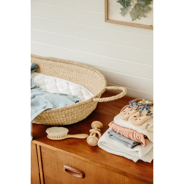 Olli Ella | Baby Changing Basket | Cotton Insert