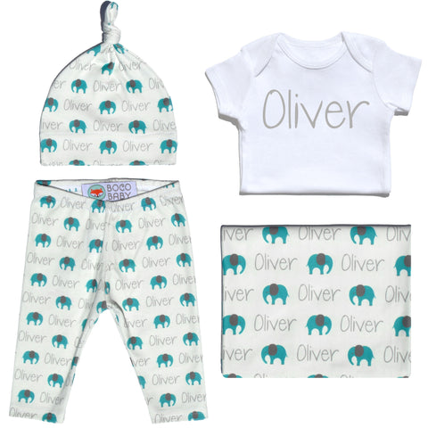Welcome Baby Set - Elephants