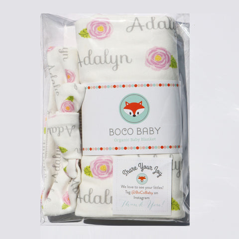 Boco Deals - Adalyn Swaddle and Headband