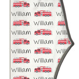 Boco Kids - Name Leggings - Firetrucks