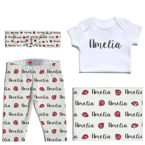 Welcome Baby Set - Ladybugs