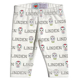 Boco Kids - Name Leggings - Sugar Skulls