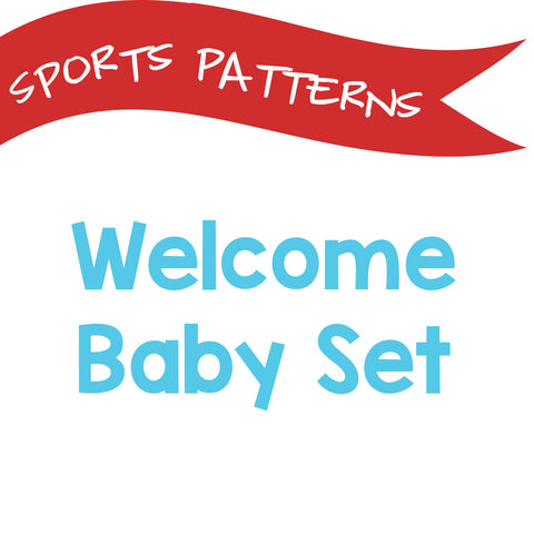 Welcome Baby Set - Pick Your Sport