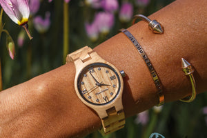 Womans Wooden Watch