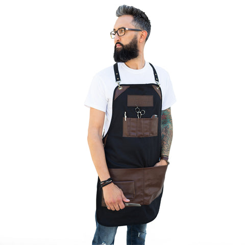 Barber Maestro Leather Apron