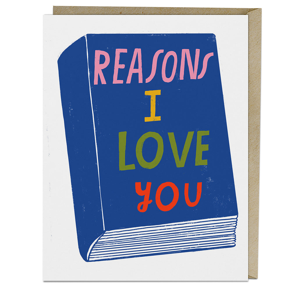 Lisa Congdon Reasons I Love You Card