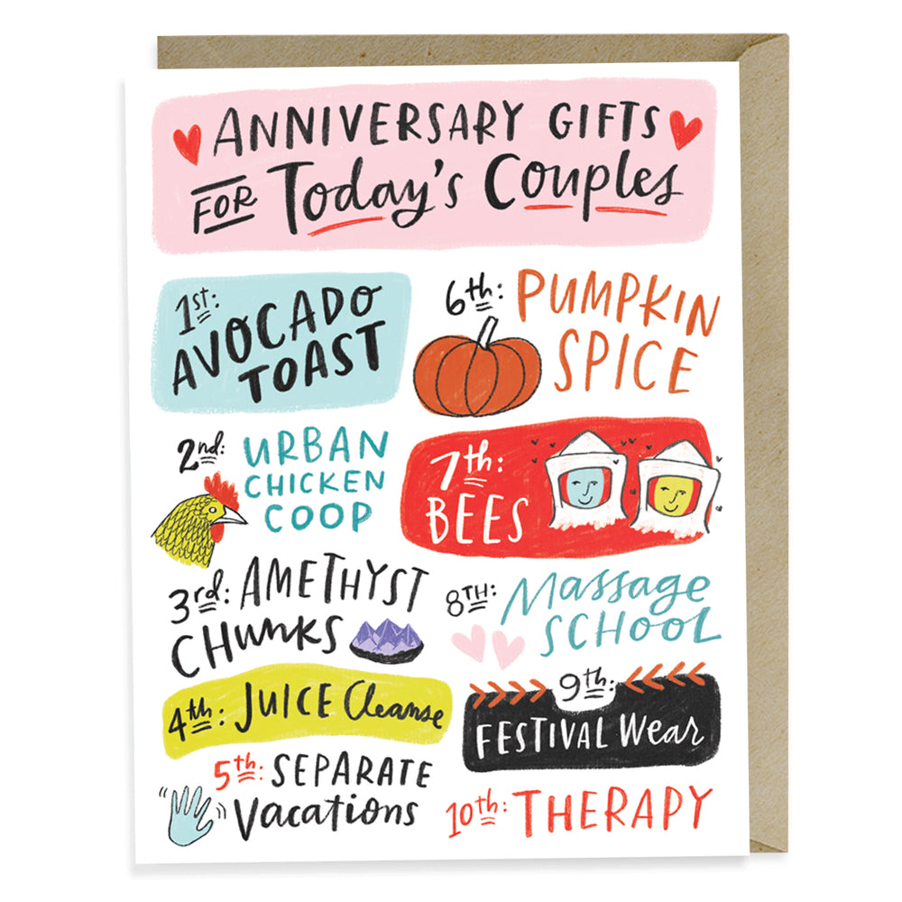 Emily McDowell Today's Couples Anniversary Card
