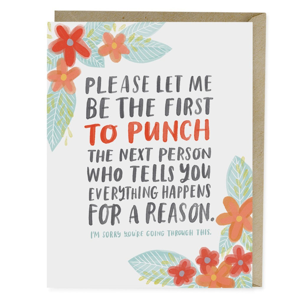 Emily McDowell Everything Happens Empathy Card