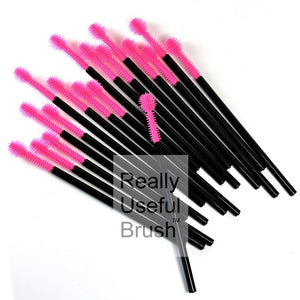 Disposable Mascara Wands Silicone PINK SPHERE - The Lash Shop @ StellaLash