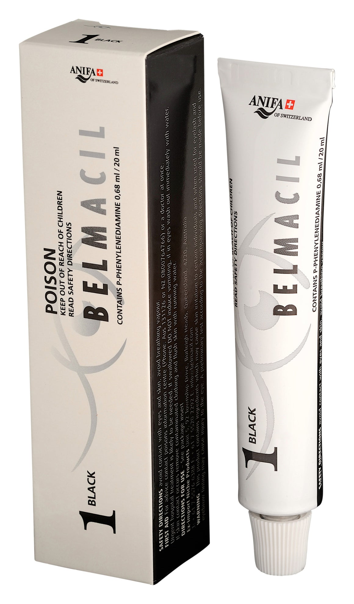 Belmacil Lash and Brow Tint Colors - The Lash Shop @ StellaLash