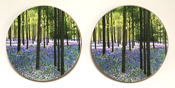 Bluebell woods coaster pack of 4 or 6