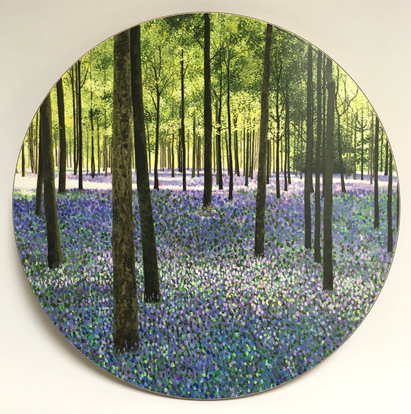 Bluebell woods placemat single or pack of 4