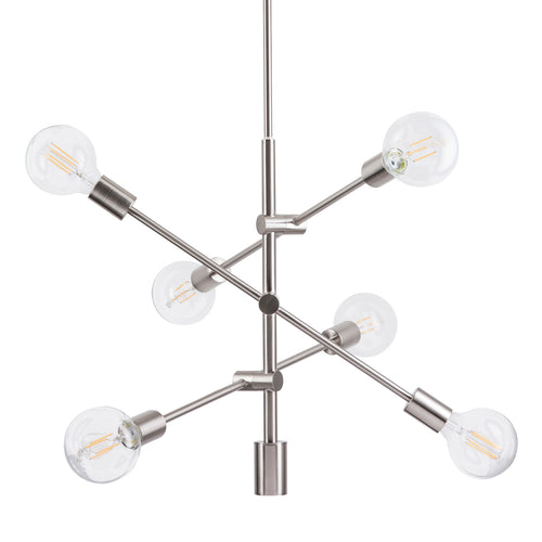 Marabella Sputnik Chandelier, LED bulbs included